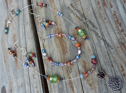 Win this jewelry set created by RavynEclipse Designs.