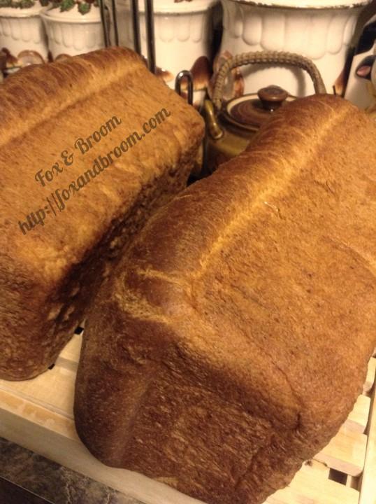 Best Ever Homemade Wheat Sandwich Bread Fox & Broom
