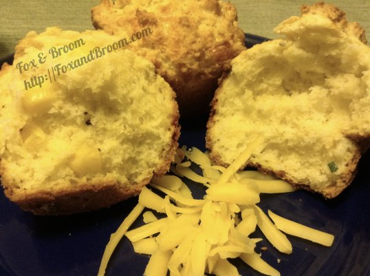 CheeseCornMuffin|Fox & Broom Blog