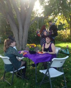 Fox & Broom|Witches' Tea Party
